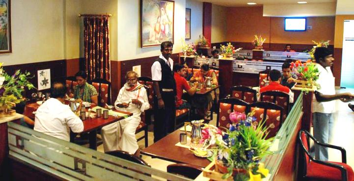 Mgr Regency Hotel Pondicherry Restaurant